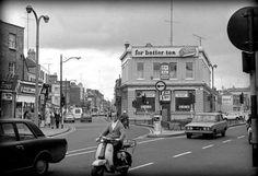 The Falcon Inn (now The Bleeding Horse) Upper Camden Street, 1972