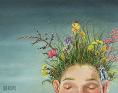 Snart sover du 157 Lisa, Oliver Jeffers, Illustration Artists, Book Illustrations, Beautiful Drawings, Elsa Beskow, Girl Wallpaper, Art Girl, Painting & Drawing