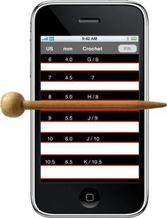 Needle gauge app