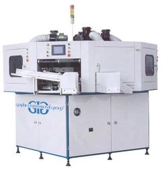 We offer semi-automatic screen printers for all shapes.To know more, contact us:  905 305 1797