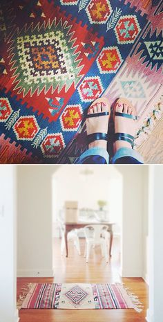 A good search for finding affordable rugs on etsy by Justina Blakeney