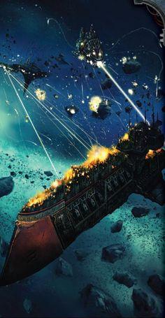 Combat - Battlefleet Gothic