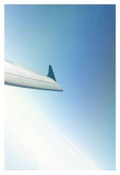 Rückflug in die Heimat...