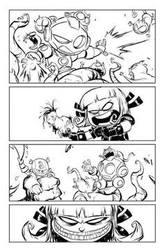 Secret Wars - Magik and The Avengers by Skottie Young