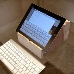 70 Best Wooden iPad stands images   wooden ipad stand, ipad