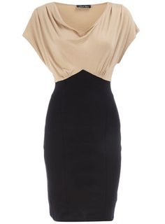 Stone cowl 2 in 1 dress - this waistline is scrumptious!
