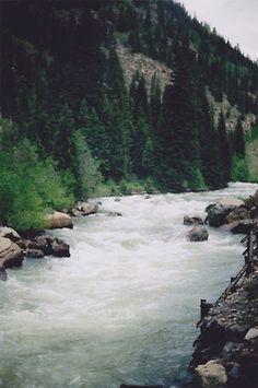 white water rafting, mountains