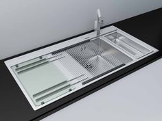 max modern kitchen sink accessories - kitchen sink Franke Mythos  with accessories by mish vexus