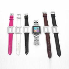 Click here! Transform your 6G nano into a watch! The Wrist Jockey is perfect if a smartwatch is too expensive or if you want to listen to music during the day at work. $47.99 via inventhelpstore.com
