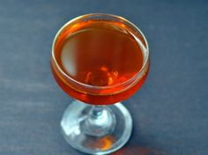 Fanciulli     1 1/2 ounce bourbon or rye     3/4 ounce sweet vermouth     1/4 ounce Fernet Branca