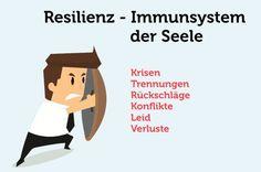 Resilienz - in der Psychologie wird so die Widerstandskraft genannt, Krisen zu überwinden. Warum diese so wichtig ist und wie Sie Ihre Resilienz stärken...