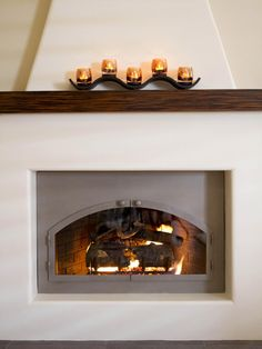 Adobe fireplace on pinterest adobe homes fireplaces and for Southwestern fireplaces