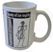 L.A. County Medical Examiner-Coroner Sherlock Mug