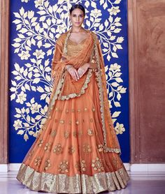 Beautiful #Wedding #Designer #LehengaSaree to give you a stunning look at any #party & #Wedding. Buy Now: http://www.shoppers99.com