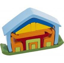 Puzzle maison 3D