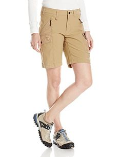 Fjallraven Womens Nikka Shorts Sand 42 -- Click on the image for additional details. This is an Amazon Affiliate links.