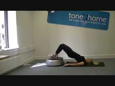 Toneathome.ie™ - Vibration plate exercises - Compact Vibroplate