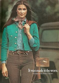old school Ralph Lauren. late 80s?  very au current.