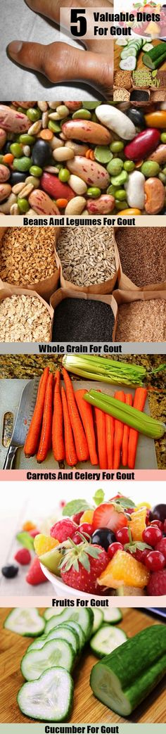 5 Valuable Diets For Gout