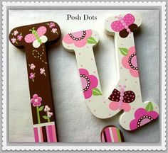 At Posh Dots, you will receive the finest in design and craftsmanship. Each design is hand drawn and custom painted to order...no paper, stencils,