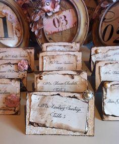 Wedding Tent Card Place card escort card by ShabbyScrap on Etsy Seating Plan Wedding, Wedding Table, Fall Wedding, Rustic Wedding, Our Wedding, Dream Wedding, Wedding Ideas, Wedding Inspiration, Diy Wedding Planner