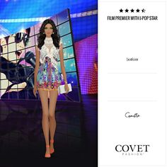 Jet set. Covet fashion. FILM PREMIER WITH J-POP STAR. By Erika Boveri