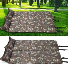117.15$  Buy here - http://ali87c.worldwells.pw/go.php?t=32756698475 - HW2016 NEW arrival  Folded Camouflage Camping Tent Mat Automatic Inflatable Cushion Mattresses