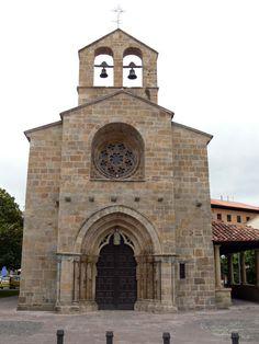 Iglesia de Santa María de La Oliva, Villaviciosa de Odón. Asturias.