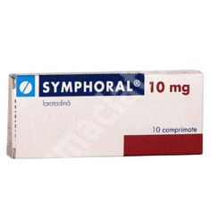Symphoral, 10 comprimate, Gedeon Richter Romania[5944712052009] Romania, Personal Care, Allergies, Pharmacy