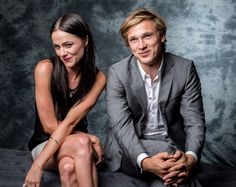 Alexandra Park & William Moseley :) #TheRoyalTwins #TheRoyals