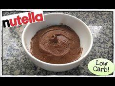 Nutella Low Carb - Como fazer (O verdadeiro creme de avelã com cacau) - YouTube