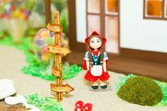 Locação de personagens para mesa - chapeuzinho vermelho