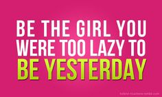 Be the girl you were too lazy to be yesterday!  Sign up for the Skinny Ms. eNewsletter for all the clean eating recipes, workouts, and meal planning that you need to be successful!  #enewsletter #skinnyms #weightloss