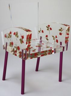 Shiro Kuramata. Miss Blanche Chair. 1988