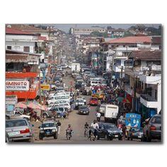 Liberia / Monrovia / Postcards