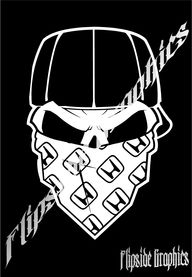 Custom Honda Decal Skull Windows Cars Trucks Laptop Sticker, $7.95