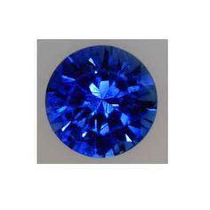 NATURAL FINE KASHMIR BLUE SAPPHIRE - ROUND - SRI LANKA - TOP GRADE