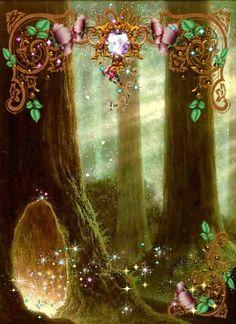 L'entrée au pays des fées...