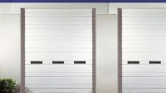 Find the best sectional ribbed steel door for your commercial needs. Available in insulated and non insulated varieties. Ideal in warehouses or loading docks. Action Door, Garage Doors For Sale, Commercial Garage Doors, Garage Door Insulation, Residential Garage Doors, Roller Shutters, Shutter Doors, Garage Door Opener, Steel Doors