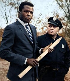 "Sidney Poitier & Rod Steiger, In the Heat of the Night"" - Norman Jewison (1967)"""