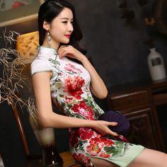 Cheongsam chinese mandarin dress https://www.ichinesedress.com/