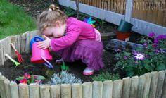 Plant a tike-sized garden - DIY Backyard Ideas Your Whole Family will Love - Photos