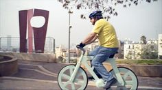 A $10 Cardboard Bicycle That  Actually Works!