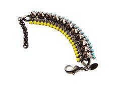 IOSSELLIANI Bracelet ¥40,000 Iosselliani, Beaded Bracelets, Jewelry, Fashion, Moda, Jewlery, Jewerly, Fashion Styles, Pearl Bracelets