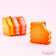 Filled Biscuit Squishy Charm