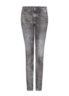 MANGO - Superenge Acid-Wash-Jeans