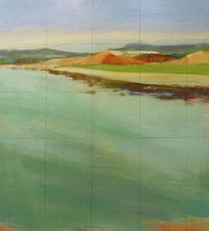Karen Jacobs SHORELINES - 40x36 - SOLD