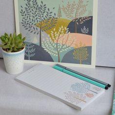 bloc note Arbres mini labo - deco-graphic.com