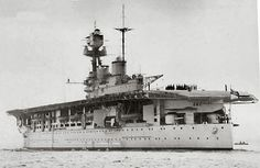 HMS Eagle pictured before the war. By the beginning of 1942, this old carrier became the only alternative for supplying Malta with Spitfires.