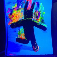 https://flic.kr/p/FX4guQ   #popart #blacklight #art#painting #map #modernart #juxtapozmag #contemporaryart #goth #bunny #by #gregggriffin #2016 #at#blahblahgallery #neonart
